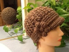 Glori-Jam Hat Designed and Written by: Gloria Clayton & James Lee Kelley MATERIALS: J – Hook for crown of hat H – Hook f...