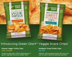 Green Giant venture into the snacking category with new veggie chips