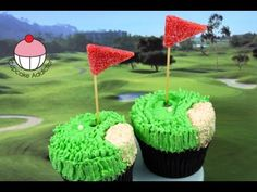 Golf Cupcakes! Make Golf Pro Cupcakes for Dad
