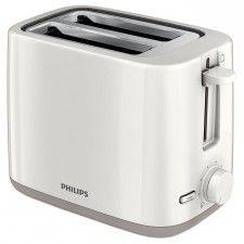Prajitor de paine Philips HD2595/90, 800 W, 2 felii, Alb