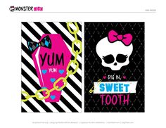 Monster High Birthday Party – (Freaky Fab) FREE Printables!