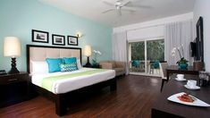Yard beach. One bedroom suite panorama