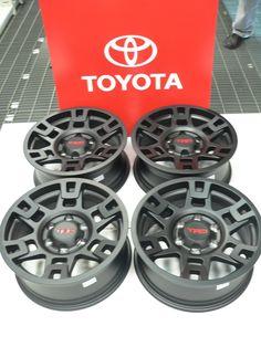 Toyota 4 Runner Aluminum Wheels: Toyota part number Trd Pro Wheels, Tacoma Wheels, Tacoma Truck, Car Wheels, 2005 Toyota 4runner, Toyota Tacoma 4x4, Buy Toyota, 2018 Tacoma, Toyota Vehicles
