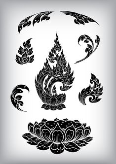 Find Set Thai Art Element Ethnic Art stock images in HD and millions of other royalty-free stock photos, illustrations and vectors in the Shutterstock collection. Buddha Drawing, Buddha Art, Thailand Tattoo, Thailand Art, Vector Pattern, Pattern Art, Free Pattern, Cambodian Art, Cambodian Tattoo