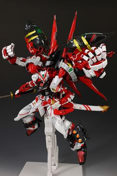 FULL REVIEW! METAL BUILD 1/100 (GUNDAM ASTRAY RED FRAME) POWERED RED and 150 GERBERA STRAIGHT (POWER): A Lot of Images http://www.gunjap.net/site/?p=321905