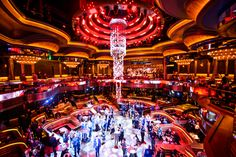 Guests danced and mingled at the stunning OMNIA Nightclub in Las Vegas during a recent off-site event! Las Vegas Events, Nightclub Design, Event Management Company, Pub Bar, Night Club, Times Square, Chicago, Wattpad, Scene