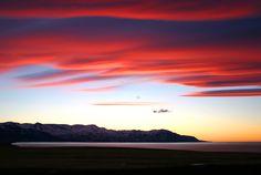 Colorful evening - Husavik, Nordhur-Thingeyjarsysla