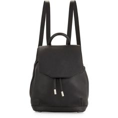 Rag & Bone Pilot Mini Leather Backpack found on Polyvore featuring bags, backpacks, accessories, bolsos, black, leather bags, leather flap backpack, mini backpack, genuine leather backpack and black leather bag Check out related backpacks on Fanatic Leather Store.