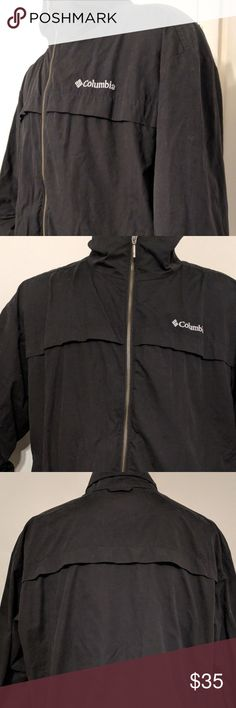 75284578d05 Black Windbreaker Coat XL You are viewing a Men s Columbia Sportswear  Company