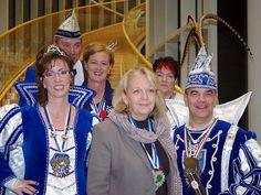 Karneval 2012: Die KV Bielstein zu Besuch bei Hannelore Kraft im Landtag NRW