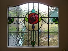 beveled glass rose stained glass panel door restored and re leaded Victorian Stained Glass Panels, Stained Glass Door, Stained Glass Flowers, Stained Glass Designs, Stained Glass Projects, Stained Glass Patterns, Leaded Glass, Beveled Glass, Mosaic Glass