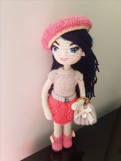 Your place to buy and sell all things handmade Hand Crochet, Crochet Hats, New Dolls, Custom Dolls, Gifts For Kids, Wool, Knitting, Handmade Dolls, Pattern