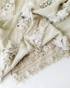 JUST IN: Vintage Moroccan Wedding Blankets : Table Tonic