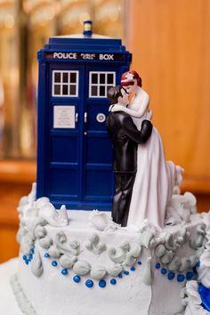 Doctor Who Cake Topper Yahtzee Tardis