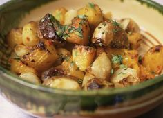 How to Make Healthy Oven Roasted Potatoes