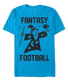 Royal Blue 'Fantasy Football' Tee - Men's Regular