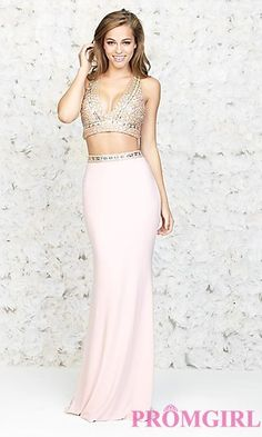 Two Piece Prom Dress by Madison James at PromGirl.com