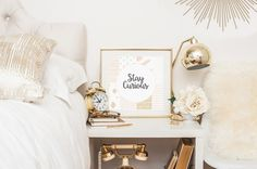 Free Printable: Stay Curious by Gold Standard Workshop