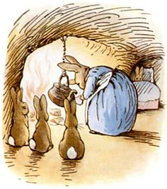 The Tale of Peter Rabbit ❤️ Read to your children.....one day they'll move on with their lives !!!