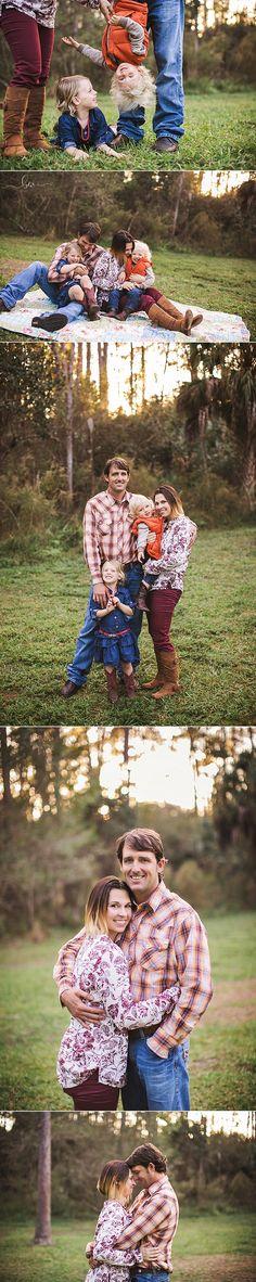 Family of 4 - outdoor photography {$80 travel to Sebring, FL} © Brandi Watford Photography LLC