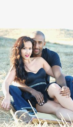 White women with black men flirting, swimming and relaxing-- all part of the rituals of interracial mating -- At the Beach and on their Honeymoon!