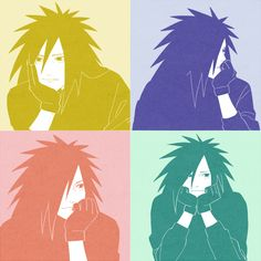Madara's smile is actually....pretty.... adorable owo