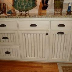 DIY Beadboard Kitchen Cabinets, glazed cabinets | Kitchen Ideas ...