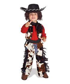Look at this #zulilyfind! Brown Cowboy Dress-Up Set - Toddler & Kids by Rubie's #zulilyfinds