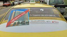 FAROL MÍDIA EM TÁXI: Mais uma campanha da Farol nos táxis do Rio de Jan...