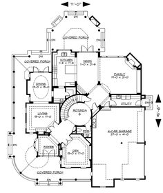 Victorian House Layout Floor Plan Cottage House Plans