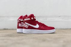 The iconic Nike x Supreme Air Force 1