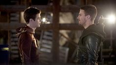 The Flash and Arrow crossover