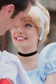 Ugh!!! I would love to be Cinderella!!! To see the looks on the little kids faces!!