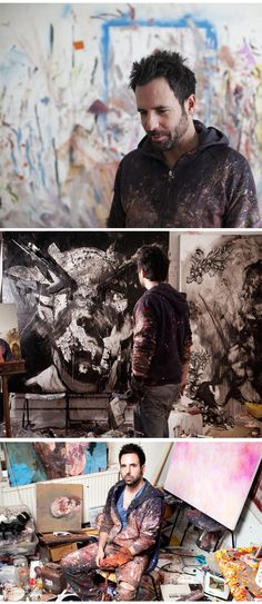 Antony Micallef http://www.antonymicallef.com/site/studio.html