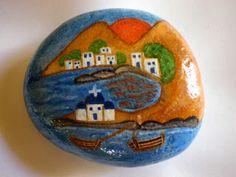 Πέτρες, πινέλα και..τρέλα!: Βότσαλα ζωγραφισμένα με τέμπερα.