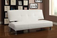 300296 Sofa Bed White by Coaster