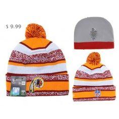 Cheap NFL Knit Hats Washington Redskins Beanie Shop WRKH03
