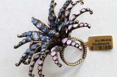 KONPLOTT Ring ALIEN ANEMONE blue/green   eBay