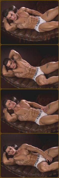 Francesco Della Vedova, Male Model, Good Looking, Beautiful Man, Guy, Dude, Hot, Sexy, Handsome, Eye Candy, Muscle, Hunk, Armpits, Abs, Sixpack, Shirtless, Undies, Underwear, Bulge, Tattoo 男性モデル アンダーウェア 下着
