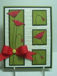 memory box poppy tulip die | IC347 Poppies by jandjccc - Cards and Paper Crafts at ...