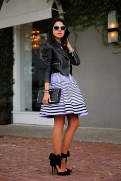 Full skirts are so cute! (Also, I would still die for these adorable bow heels)