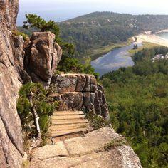 Which trail in Acadia?  Precipice?