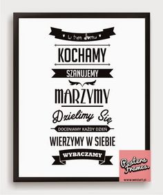 Inspirujące cytaty - dom / Inspiring quotes - home