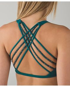 Free To Be Bra*Wild forage teal/flashback static seamist forage teal