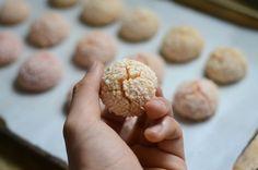 Gluten free rosewater & cardamom rice flour cookies! #food #yummy #dessert #glutenfree #cookies