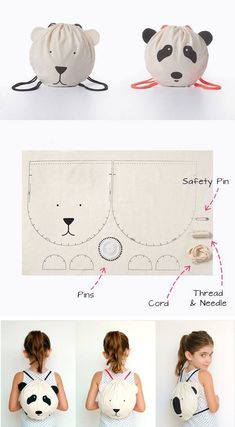 DIY and DIY crafts around the fabric DIY projects DIY clothes from … Sewing Tutorials, Sewing Crafts, Sewing Projects, Sewing Patterns, Diy Crafts, Diy Projects, Doll Patterns, Fabric Crafts, Sewing Ideas