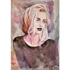 What is Your Painting Style? How do you find your own painting style? What is your painting style? Watercolor Face, Watercolor Artwork, Watercolor Portraits, Watercolor Tattoos, Watercolor Ideas, Art Du Croquis, L'art Du Portrait, Galaxy Painting, Nature Tattoos