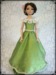 1865 skirt with evening bodice