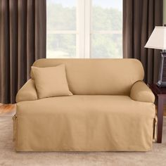 T-cushion sofa cover, Sofa covers, also known as slipcovers, have several uses mainly to protect sofas to stay clean for a long time. Selecting your sofa cover can be daunting if you lack fundamental