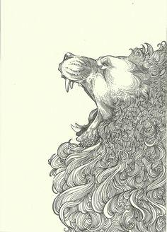 quiero un tatuaje de león, me hace acordar al signo de leo, el signo de mi madre y su gran cabellera